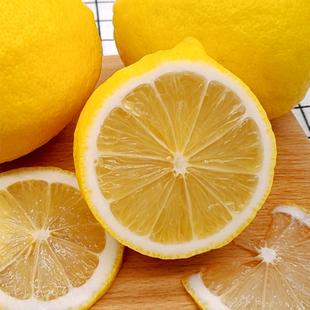 10個正宗安岳黃檸檬新鮮精選