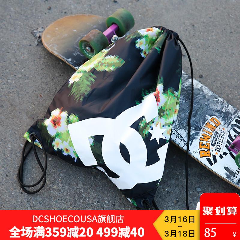 DCSHOECOUSA движение рюкзак мужской и женщины 18 весна новый студент шнурок сложить только шаг пакет EDYBA03028B