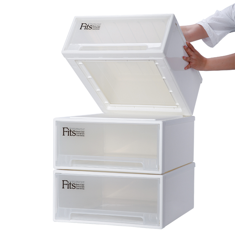 Japan Tianma Storage Box Drawer Plastic Storage Box Storage Box Extra Large  Clothes Closet Storage Box Storage Cabinet