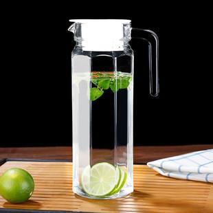 家用耐高温加厚防爆玻璃冷水壺