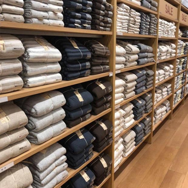 无印日式良品水洗棉四件套1.8m双人日式简约风2米被套床上用品