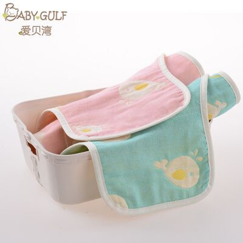 婴儿全纯棉纱布吸汗垫背巾幼儿园宝宝新生儿童隔汗巾加大码3-6岁