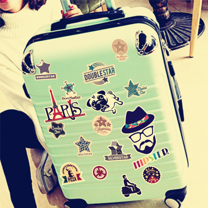 usd 6 91 laptop stickers bags stickers trolley luggage suitcase