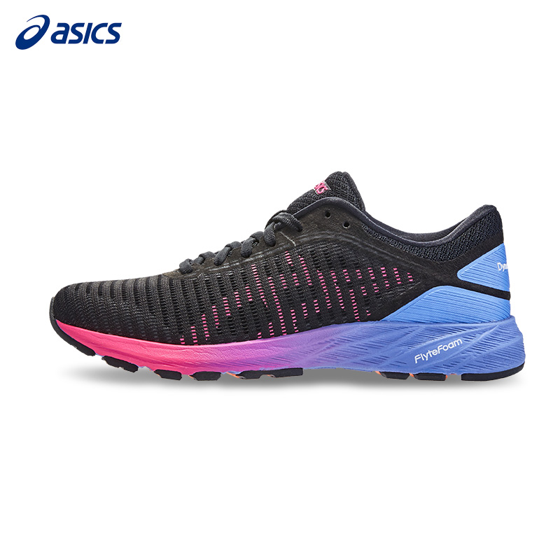 wholesale dealer ae60b cd686 ASICS DynaFlyte 2 Womens lightweight cushioning stable running shoes T7D5N