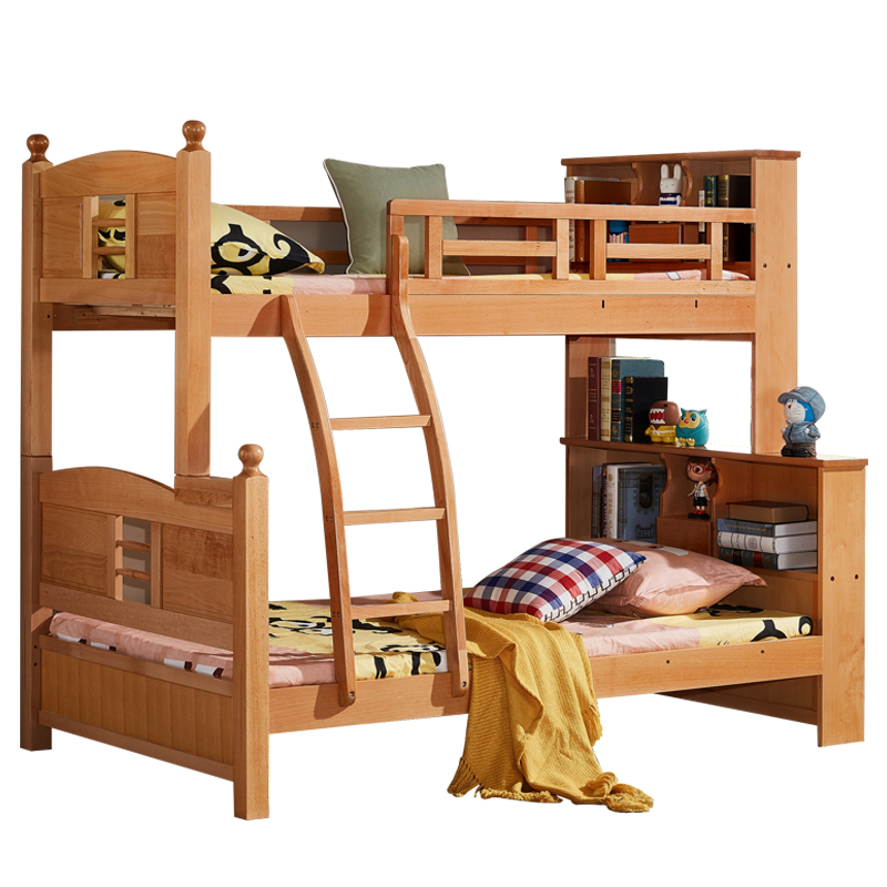 Usd 1495 36 Solid Wood Bunk Bed Mother Bed High And Low Bed Beech