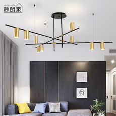 Chandeli personality creative shape living room atmosphere Nordic style lighting restaurant bedroom hotel branch lighting