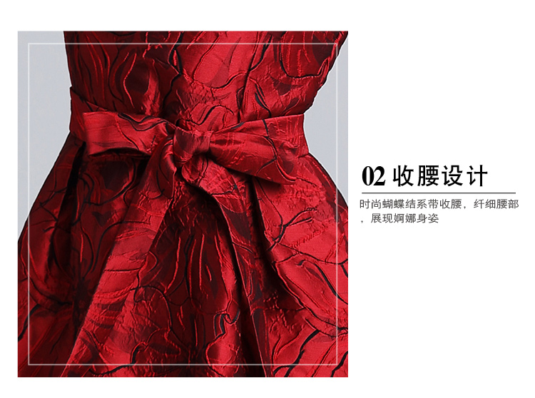 Polyester Fashionskirt(Red-M) NHKY0302-Red-M