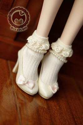 taobao agent 【Meow House】Forest ladies lace small socks Japanese cute 3 points 4 points BJD baby clothes SD DD