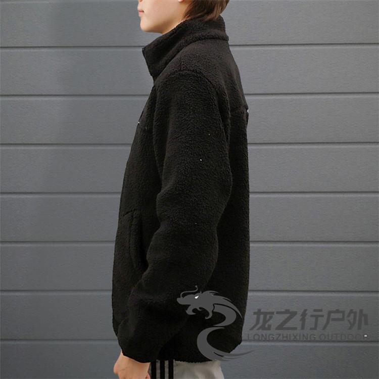 正韓男裝2021秋冬新品Columbia哥倫比亞戶外男女情侶開衫抓絨衣外套AE0792