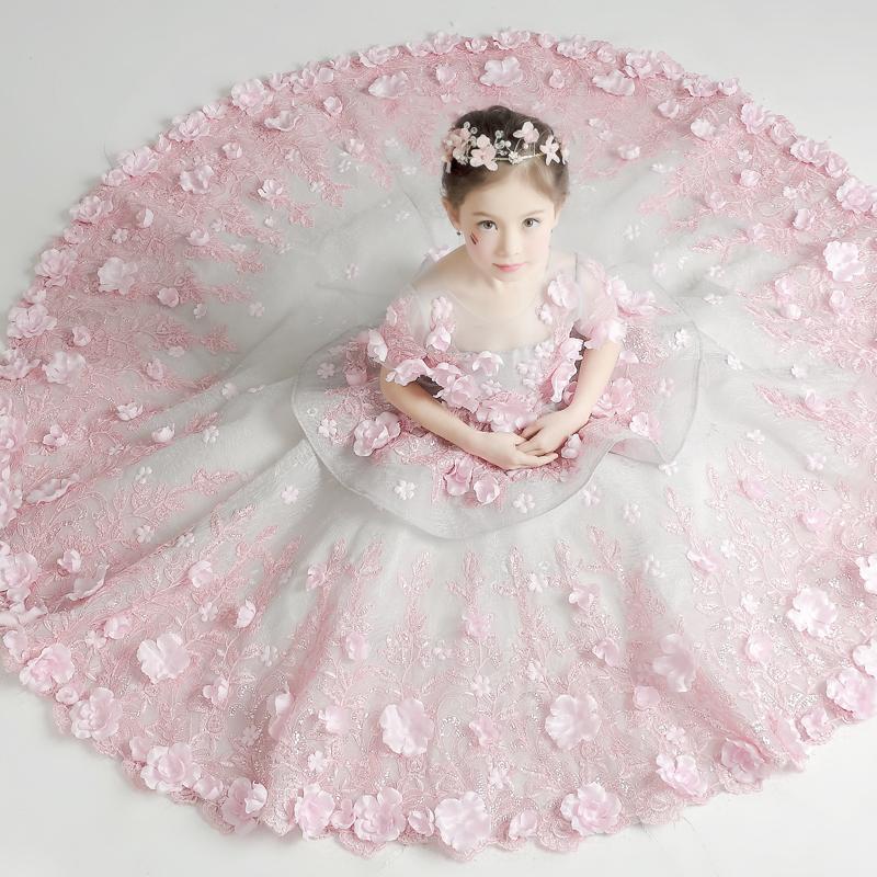 USD 262.60] Children\'s wear 5 girls dress 6 Summer 8 princess dress ...