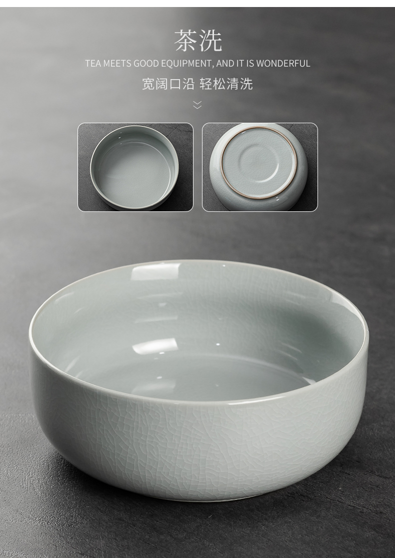 Your up kung fu tea set office received a gift of a complete set of azure to open the slice Your porcelain teapot household water bottle