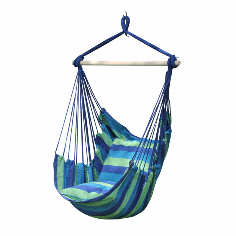 amazon garden porch rope for chair bedroom hammock beach wood hanging with stretcher cotton of indoor yard com outdoor capable cradle dp net