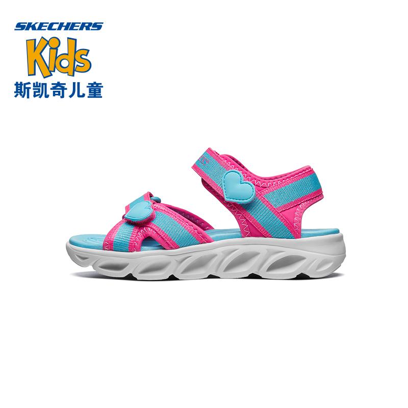 【Skechers斯凯奇】童鞋魔术贴凉鞋