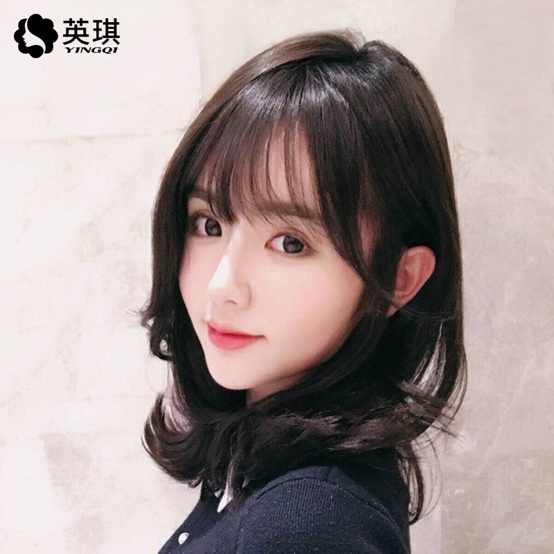 Short Curly Hair With Bangs Girls 66