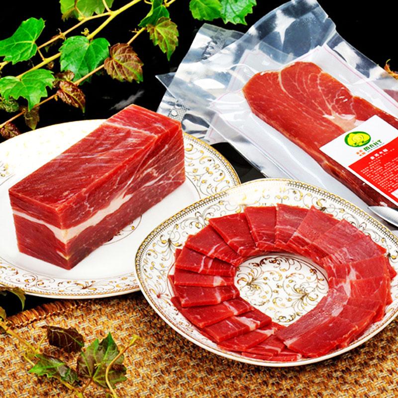 金华火腿500g中方正宗金苏火腿肉腿心金华特产腌腊肉煲汤舌尖美食