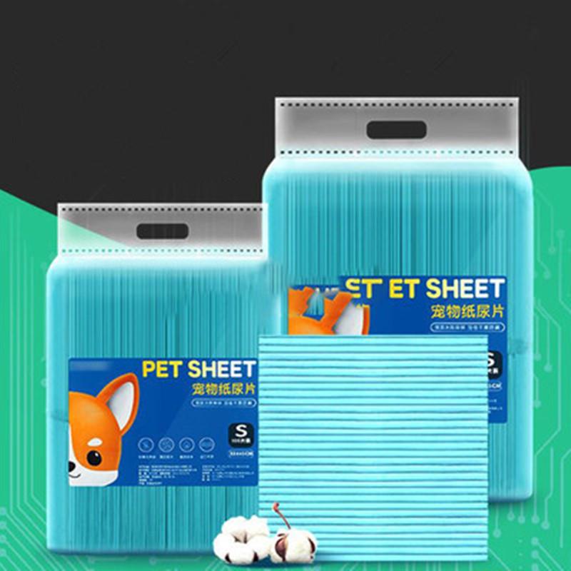 狗狗尿垫100片宠物尿垫加厚除臭猫尿片泰迪尿不湿兔子狗狗隔尿垫6