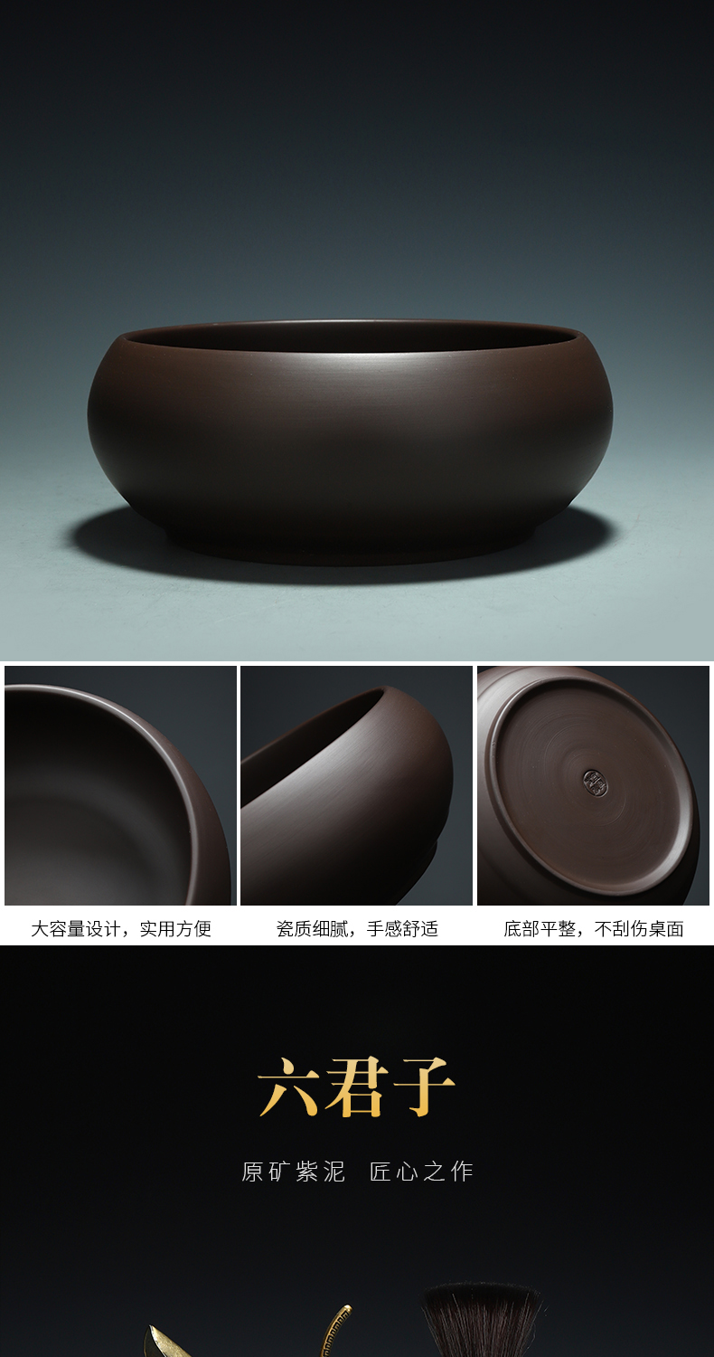 Recreation products it tea set purple clay kung fu tea tureen household contracted style same teapot