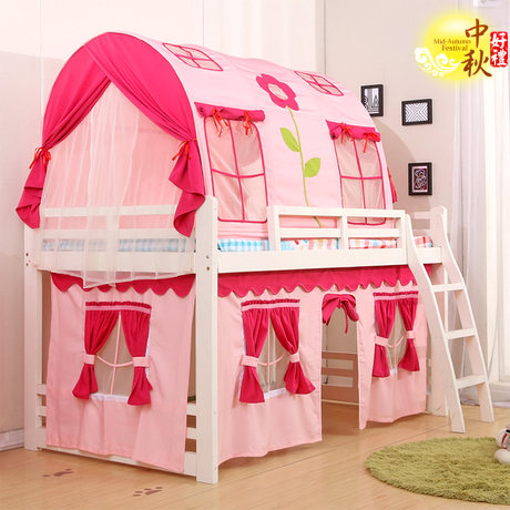 USD 91.96] New children's bed tents boys and girls bed tents