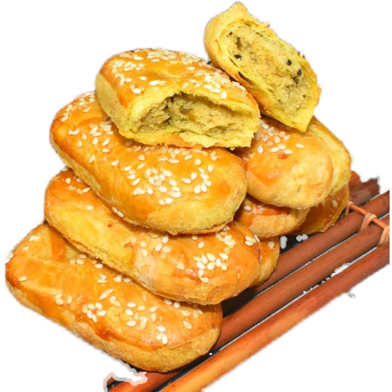 牛舌饼咸味椒盐酥饼葱油饼酥皮老婆饼香酥饼早餐传统糕点点心零食