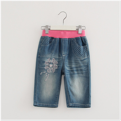 Brand discount children 's clothing new summer jeans children in the pants pants 42121540
