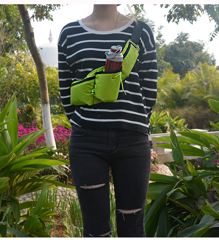 腰包運動腰包男女多功能水壺腰包馬拉松跑步腰包6寸手機 【3C創意生活館-可開發票】