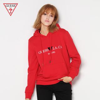 GUESS любителей мисс письмо LOGO длинный рукав свободный закрытый свитер -YI3K9470K, цена 7061 руб