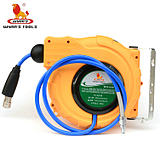 Power lion 12m telescopic tracheal reel seat 12m automatic telescopic hose reel WYA120B