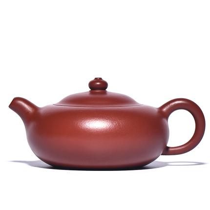 九把壶宜兴紫砂壶纯全手工原矿大红袍茶具泡茶壶送礼套装扁玉乳