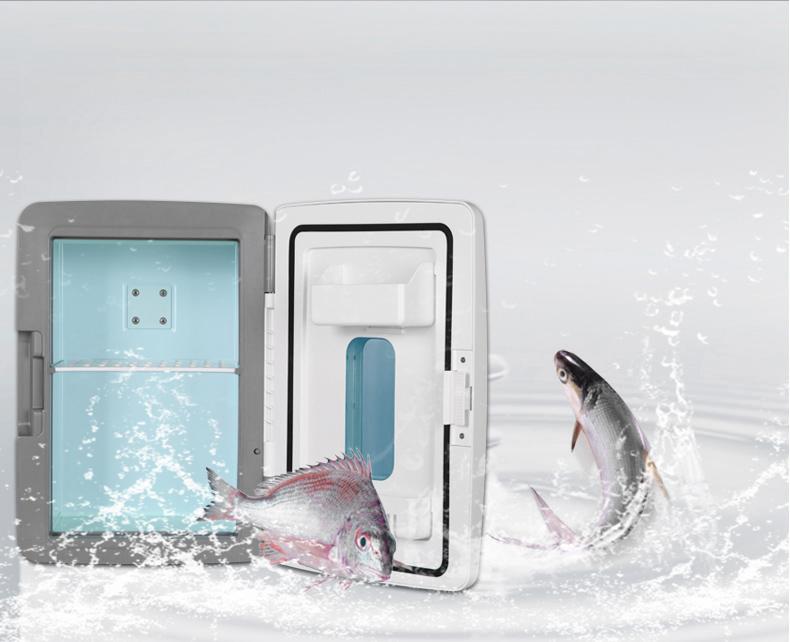 【源生活】德國COOB車載冰箱車家兩用小型家用學生宿舍冷暖器迷妳小冰箱制冷`25651