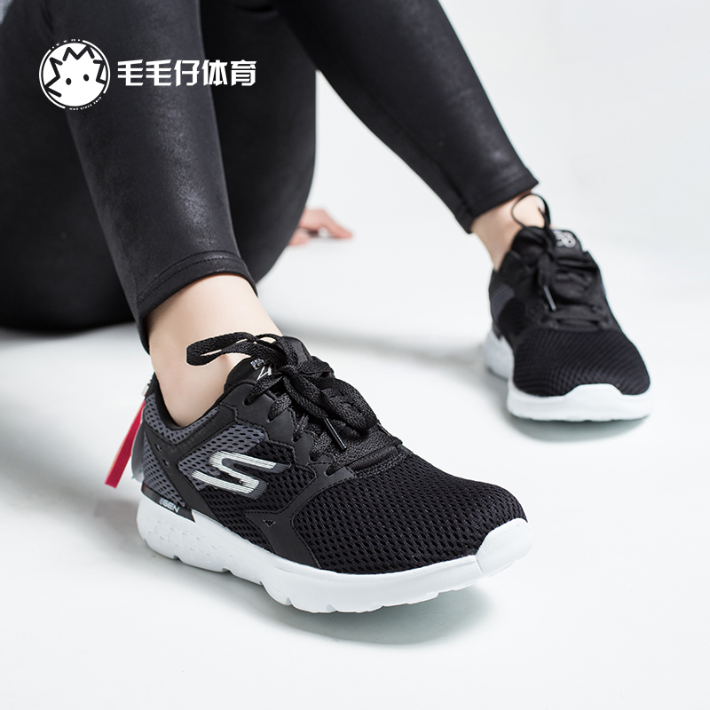 skechers go run 400. skechers go run 400 black and white cloth breathable fashion leisure sports jogging shoes female 14350w run g