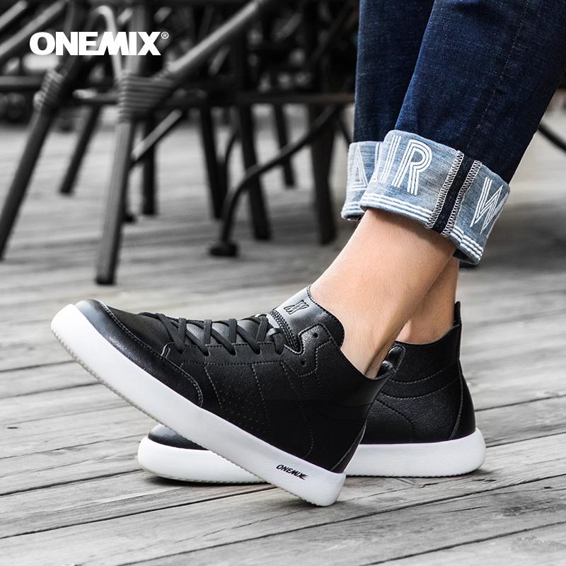 onemix play find 2020 spring new high-top sneakers Giày thông thường của Hàn Quốc Giày da nam giày du lịch đôi giày - Dép / giày thường