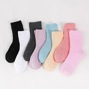 【超值5双】冬季加厚保暖毛圈袜
