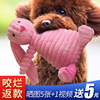 Pet puppy dog ​​bite Teddy law fight bear bear puppy bite plush sound supplies toy molars to relieve stuffy artifact