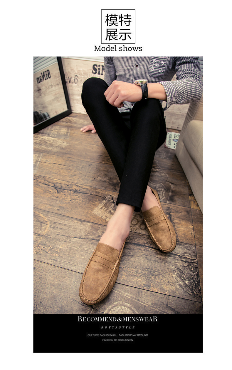 Spring and autumn new youth trend shoes flat comfortable casual men's shoes 53