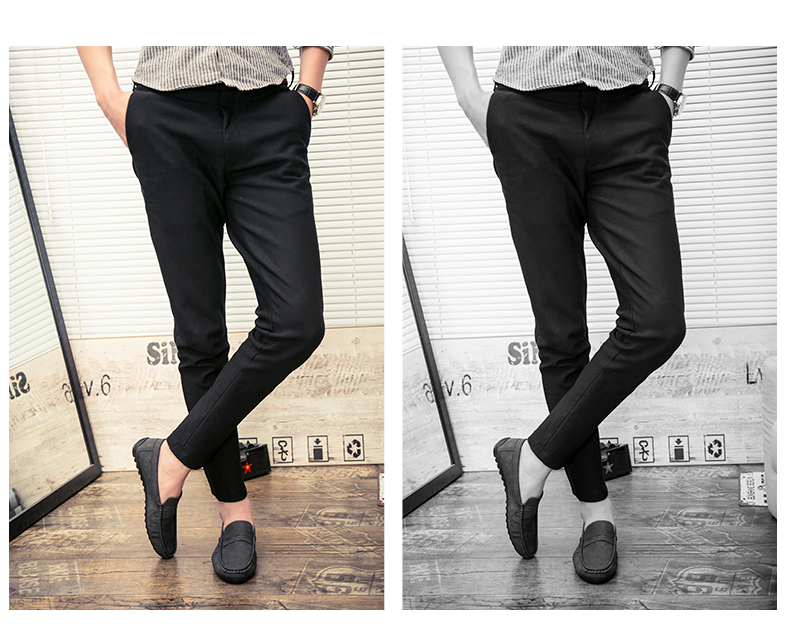 Spring and autumn new youth trend shoes flat comfortable casual men's shoes 61