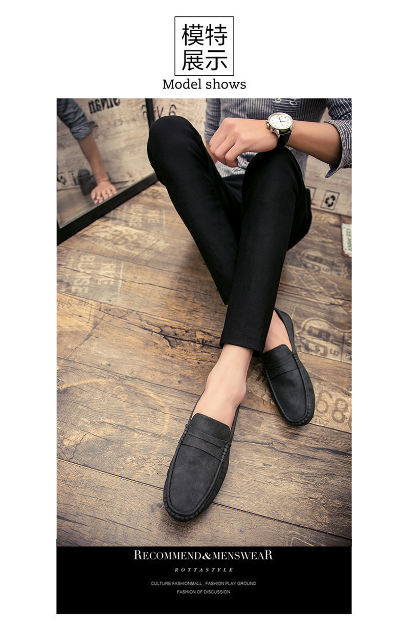 Spring and autumn new youth trend shoes flat comfortable casual men's shoes 59