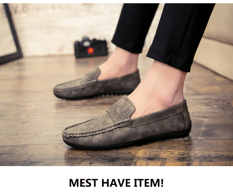 Spring and autumn new youth trend shoes flat comfortable casual men's shoes 64