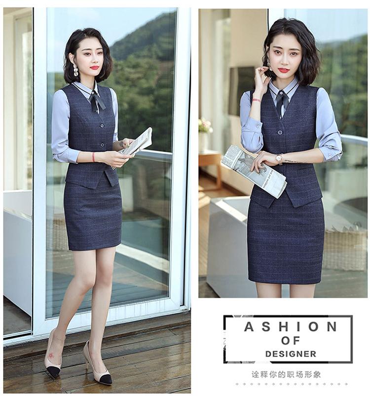 职业套装女气质时尚正装女韩版西服春秋装工作服小西装外套女