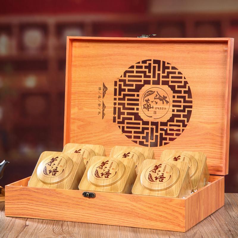 安溪铁观音礼盒装500g木质特级新茶春茶浓香型乌龙茶送礼包装茶叶_领取30元天猫超市优惠券