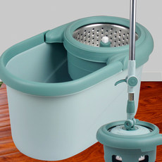 Mailyard free hand wash with a mop bucket rotary drying mop labor-saving household automatic dual drive mop water dumped