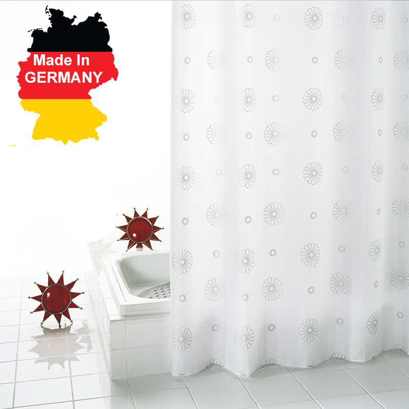 Bathroom Waterproof Cloth Shower Curtain Bath Partition High Grade Mildew Thickening