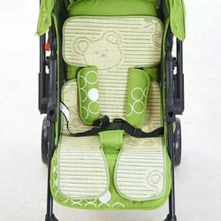 【今日特价网】通用款婴儿推车凉席儿童手推车凉席竹炭垫婴儿车夏季宝宝车坐垫