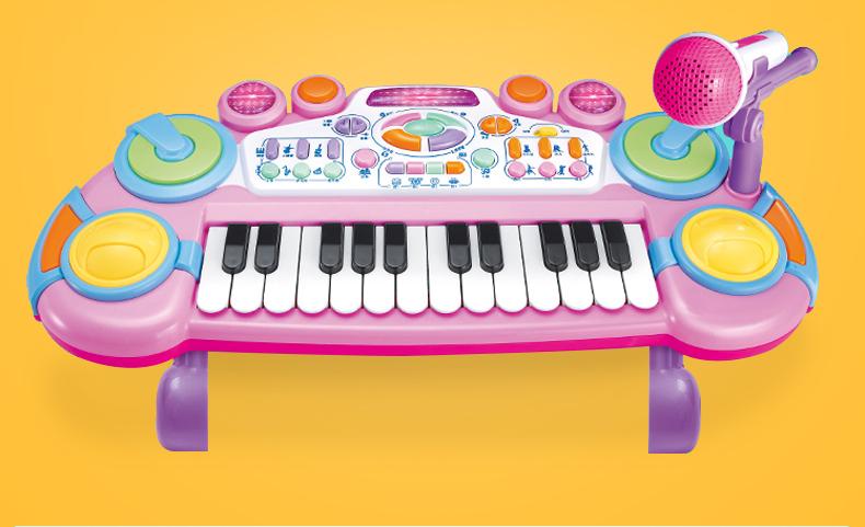 兒童電子琴寶寶音樂多功能鋼琴玩具 cf 8%百分吧