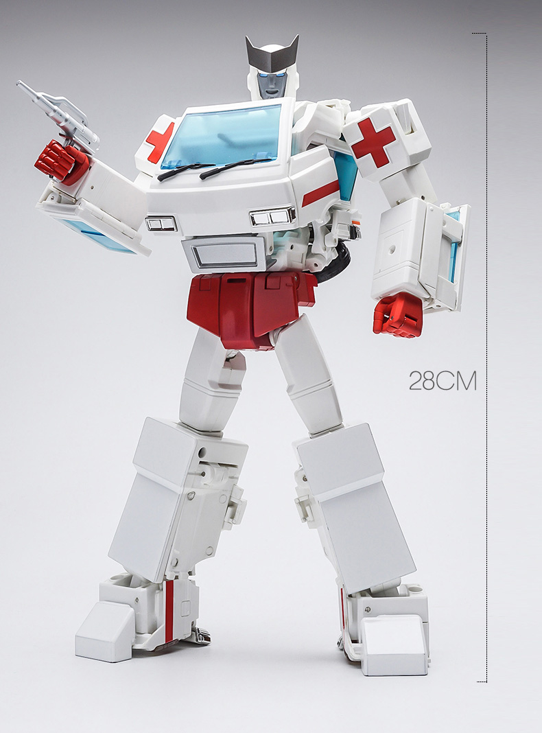 Transformers mpp-30 enlarged autobot G1 alloy version with iron mail