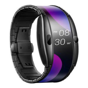 努比亚α 柔性屏腕戴智能手表 支持联通esim通话 红外感应触控 主图