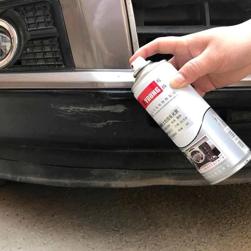 Usd 15 22 Car Matte Matte Black Plastic Parts Hand Painted