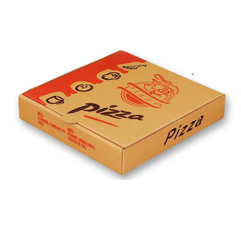 USD New Creative Meida Pizza Pizza Box Leather Corrugated