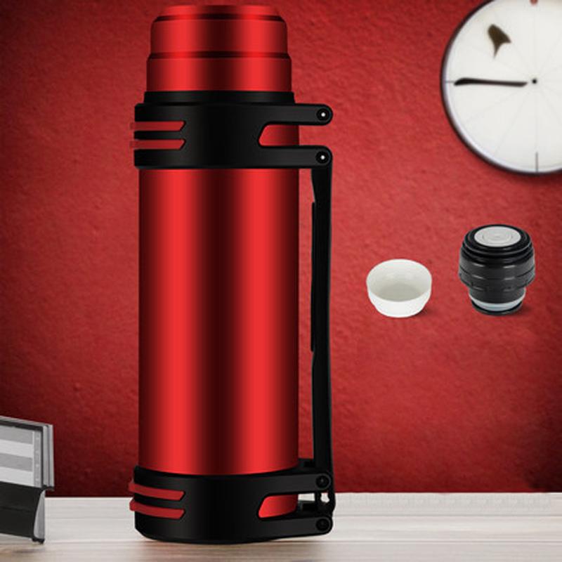古琦保温杯大容量保温壶ins不锈钢家用男暖水壶热水瓶户外车载壶