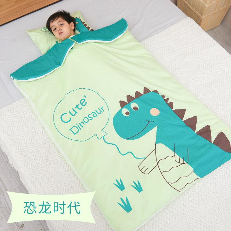 Dinosaur Era [conventional Quilt Cover/removable Sleeves]