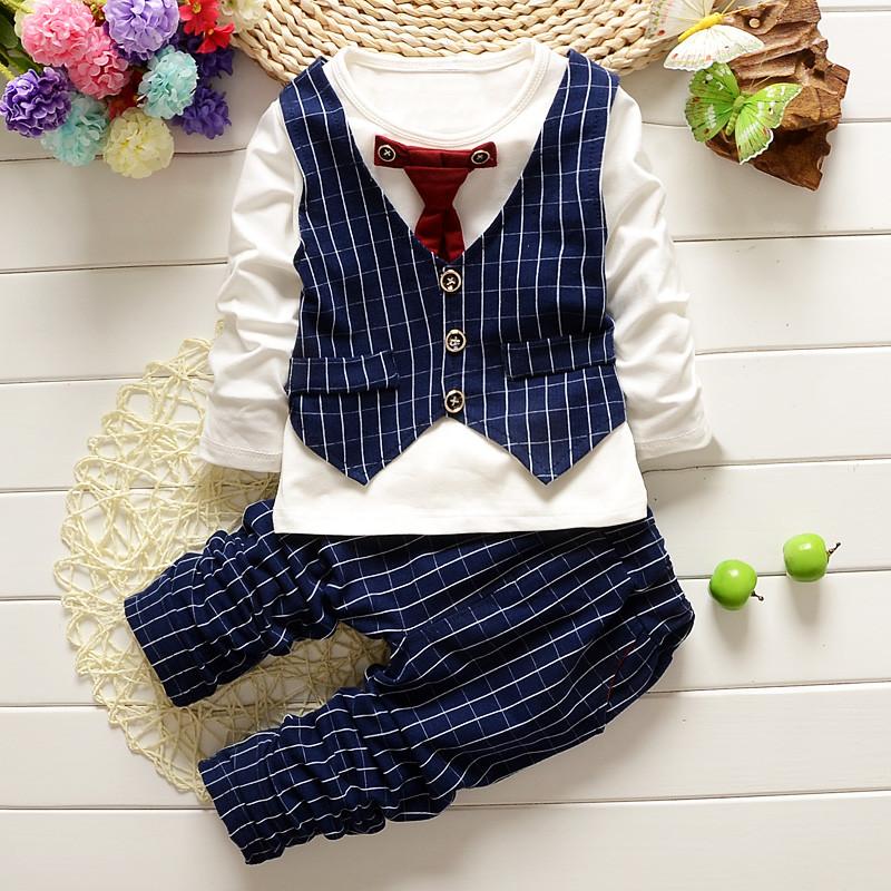 宝宝套装秋装童装0-1-2一3-4岁男童衣服秋季儿童婴儿2018新款潮衣